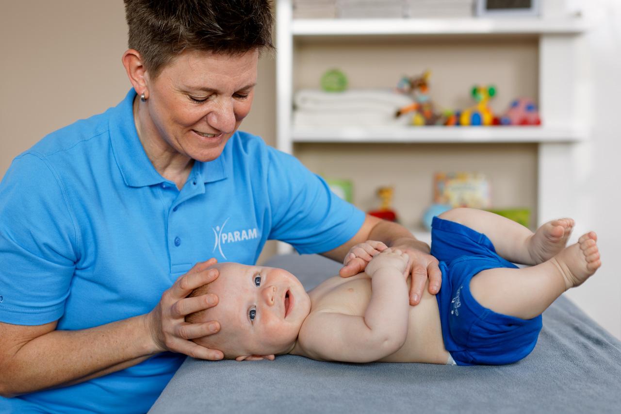 Osteopathische Behandlung bei Säuglingen