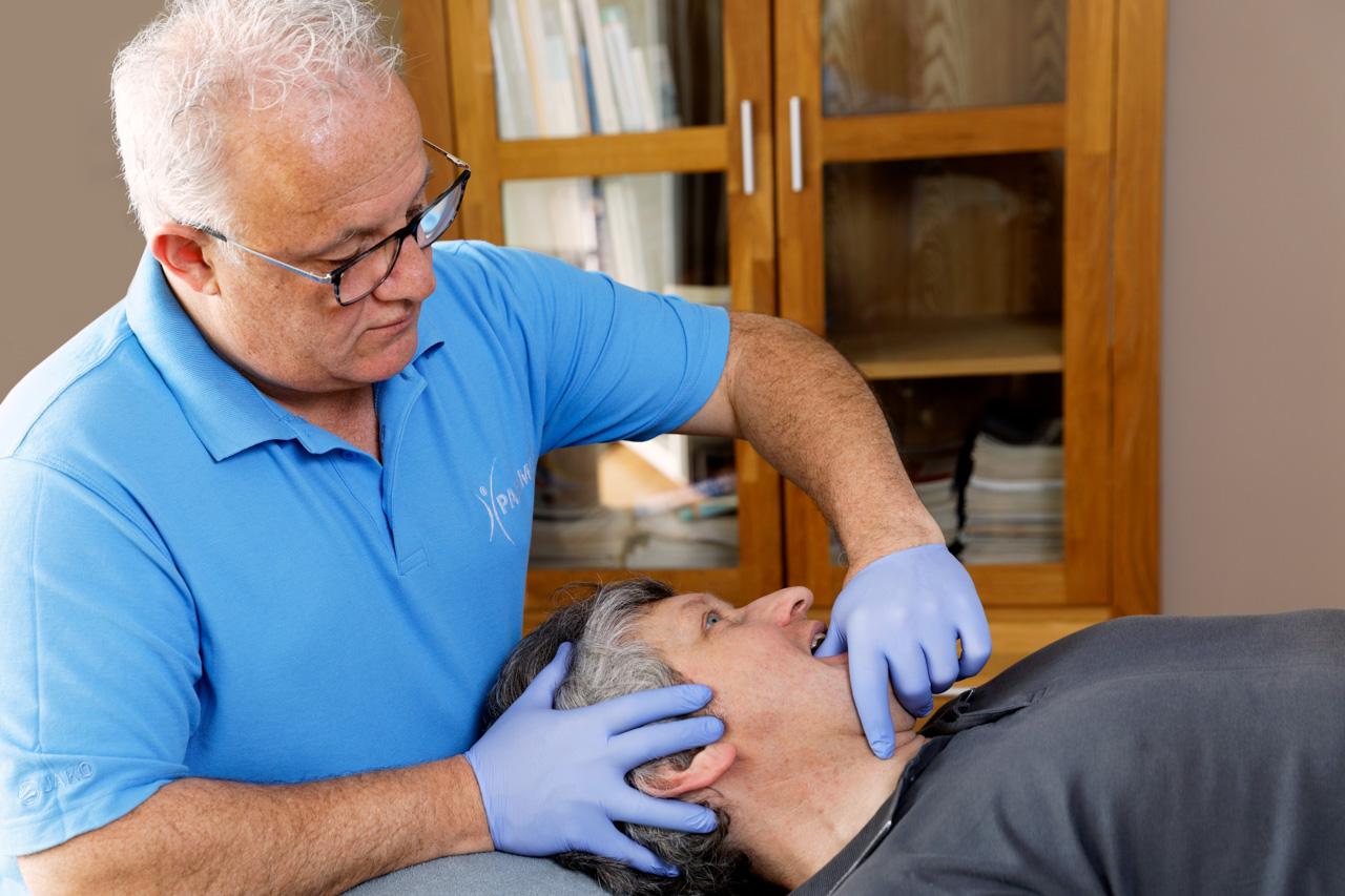 Therapie bei Craniomandibulärer Dysfunktion (CMD)