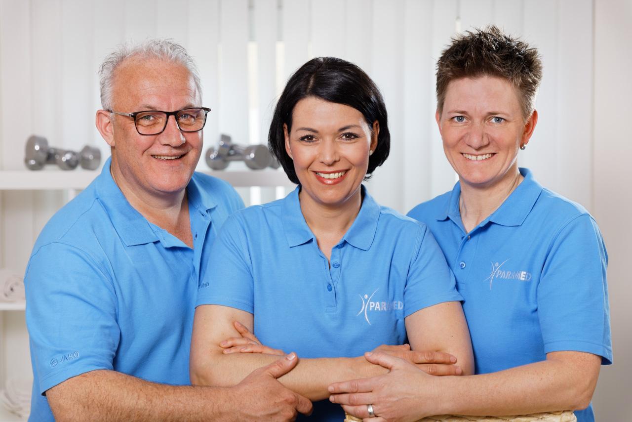 Geschäftsführung und Praxisinhaber: Pascal Heemels, Nadine Lüdecke, Anja Goebbels